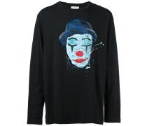 Sweatshirt mit Clown-Print