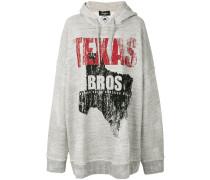 Texas Bros oversized hoodie