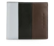 colour block wallet