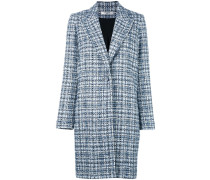 Einreihiger Tweed-Mantel - women