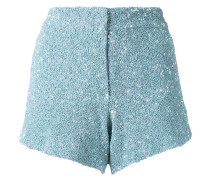 - sequinned shorts - women - Nylon/Polyester - 34