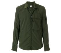 Hemdjacke mit Reißverschluss