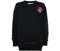 Fire oversized sweatshirt - Unavailable