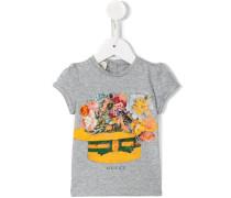 T-Shirt mit Print - kids - Baumwolle - 3-6 M.