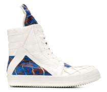 High-Top-Sneakers mit Prägung