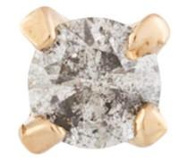 E.M. 18kt Gelbgoldohrstecker mit Diamanten