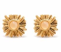 Trefle puce earrings