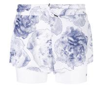 Shorts mit floralem Print - women - recyceltes