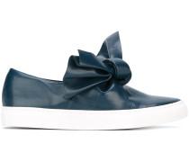 Slip-On-Sneakers mit Knoten