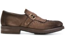 Monk-Schuhe mit Budapester-Details