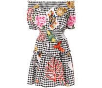 table cloth printed dress
