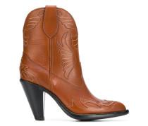 Cowboy-Stiefel mit Blockabsatz