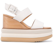 Sandalen mit Holzsohle
