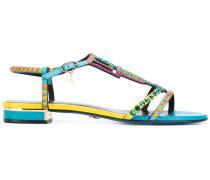 Sandalen mit geometrischen Verzierungen - women