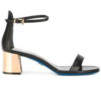 Sandalen mit Kontrastabsätzen - women