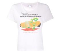 T-Shirt mit Wüsten-Print