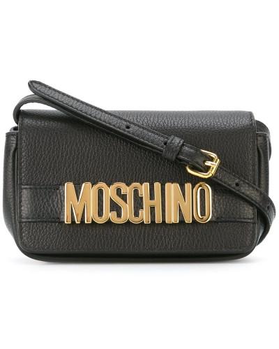Moschino Damen Umhängetasche mit Logo