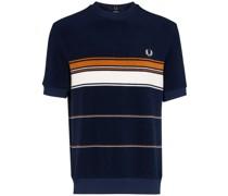 Gestreiftes Frottee-T-Shirt