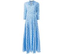 - Langes Kleid mit Stern-Print - women