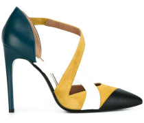 Pumps mit Colour-Block-Optik