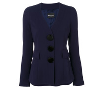 blazer with large buttons