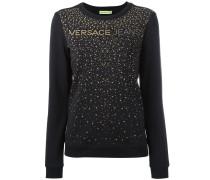 - Sweatshirt mit Nietenverzierung - women