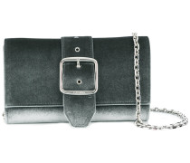 buckle strapped clutch