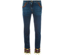 Bestickte Jeans - women