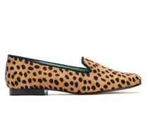 Loafer mit Animal-Print