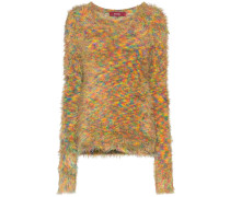 Ange shaggy-knit jumper