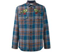 needlepoint plaid shirt