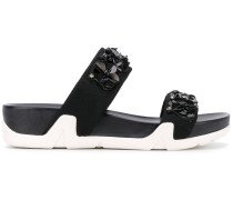 'Oman' Sandalen - women - Viskose/Leder/rubber