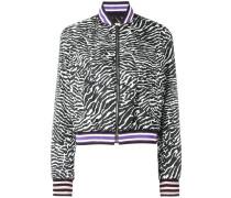 Bomberjacke mit Zebra-Muster - women
