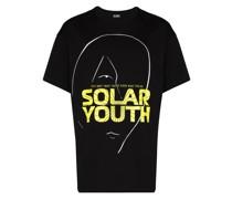 "T-Shirt mit ""Solar Youth""-Logo"