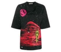 'Mountain Lady' T-Shirt mit Print