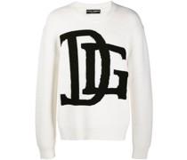 DG-logo knitted jumper