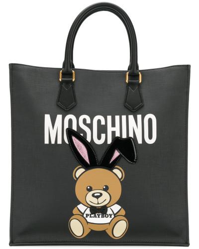 Moschino Damen 'Playboy Ready To Bear' Handtasche