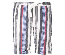 Gestreifte 'Meron' Shorts