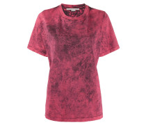 T-Shirt in Acid-Wash-Optik
