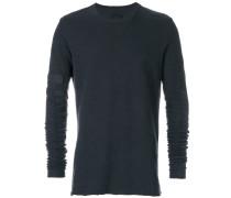 embellished sleeve sweater
