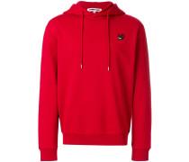 Swallow badge hoodie