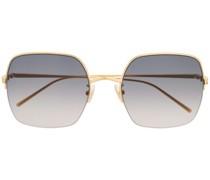 Sonnenbrille mit halbem Gestell