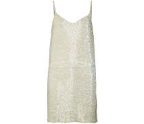beaded slip dress - women - Seide - S