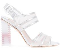 Sandalen mit Designer-Absatz
