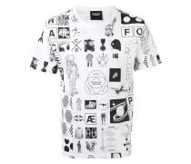 "T-Shirt mit ""Manifesto""-Print"
