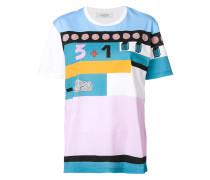 "T-Shirt mit ""Counting""-Print"