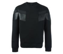 Sweatshirt mit Kontrasteinsätzen - men