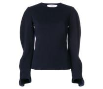 Pullover mit gewellten Ärmeln