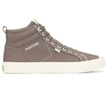 x Pantone 'Bunge Cord' High-Top-Sneakers