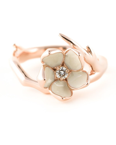 'Cherry Blossom' Diamantring